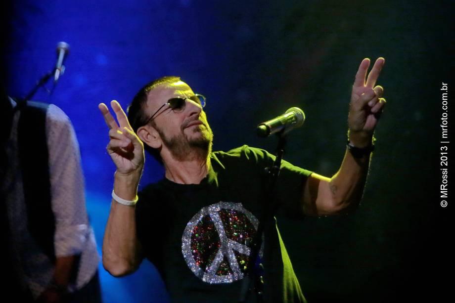 Ringo Starr volta à cidade em fevereiro