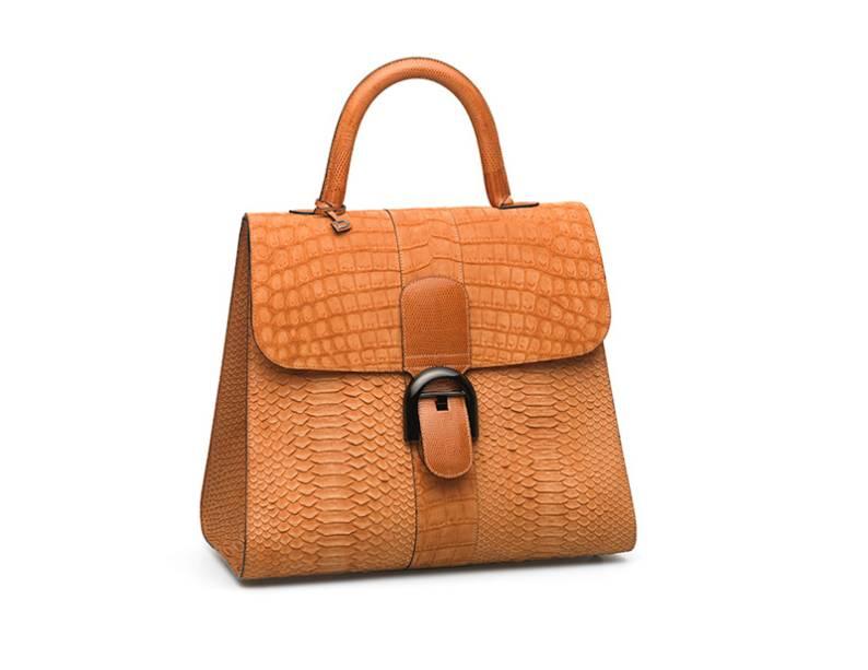 A Brilliant, de 1958, é o modelo icônico da marca: na nova coleção, ganhou versões com couros exóticos