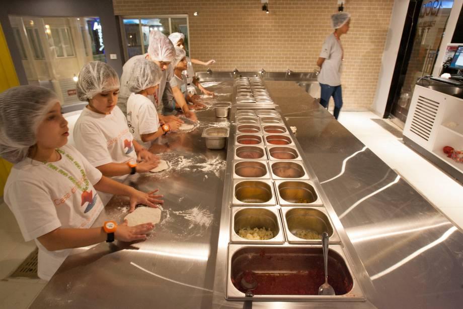 Oficina de culinária é uma das atividades a serem escolhidas