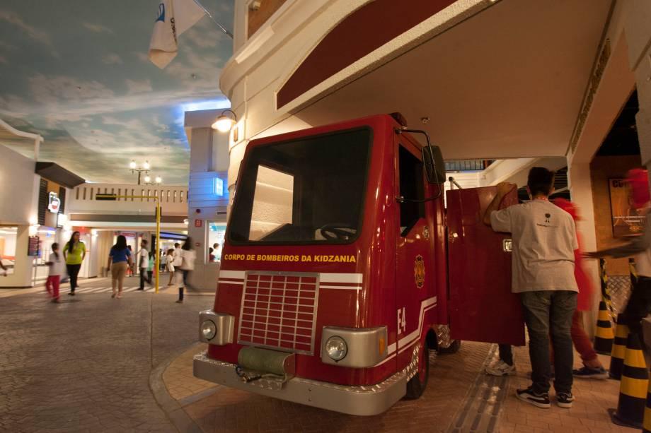 Uma das atrações mais concorridas é o corpo de bombeiros