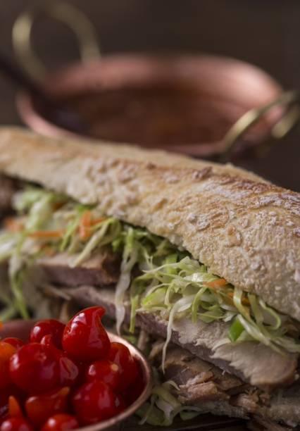Restaurante Dona Lucinha: sanduíche de pernil