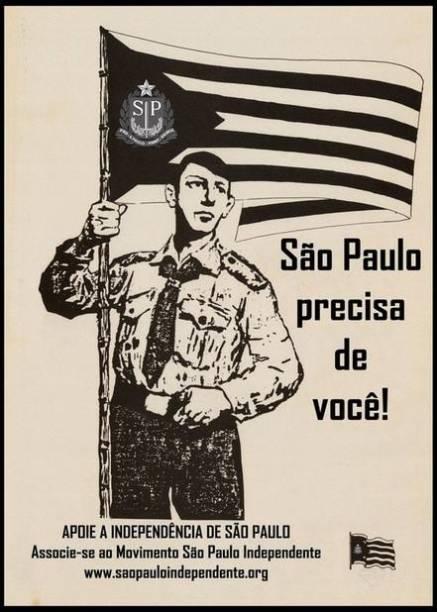 Simpatizantes costumam compartilhar imagens sobre São Paulo