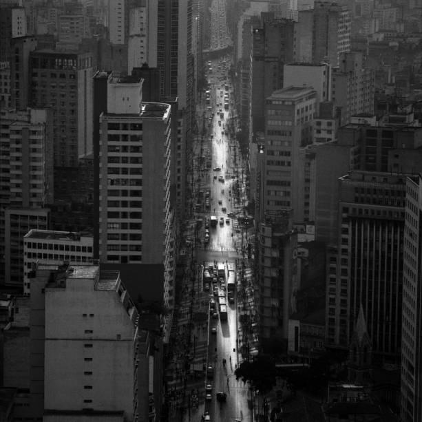 Outro clique da Avenida São João