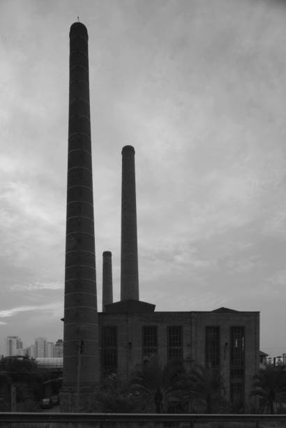 Chaminés das antigas Indústrias Reunidas Francisco Matarazzo