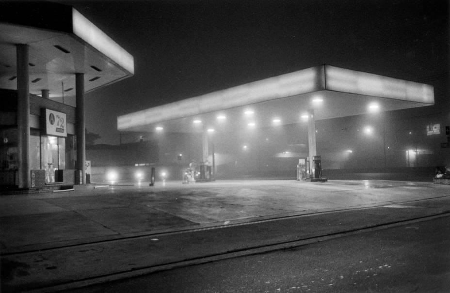 Posto de gasolina na Marginal Pinheiros