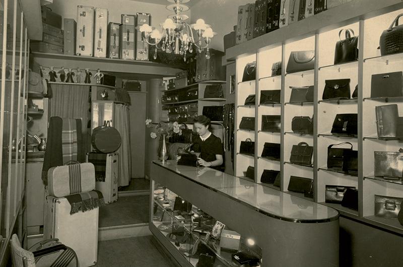A primeira loja da marca