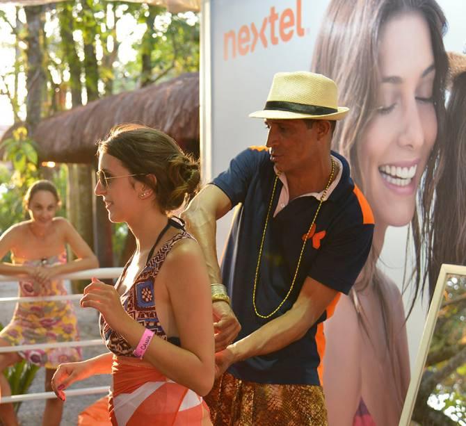 Major das Cangas ensina a entrar na moda na praia