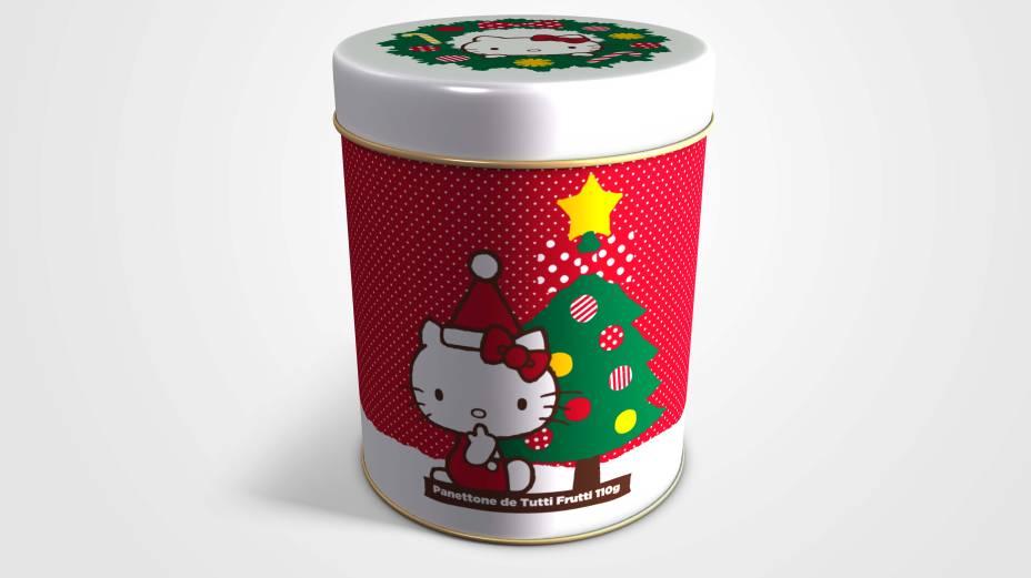 Ofner: panetone de tutti frutti da Hello Kitty (R$ 24,90)