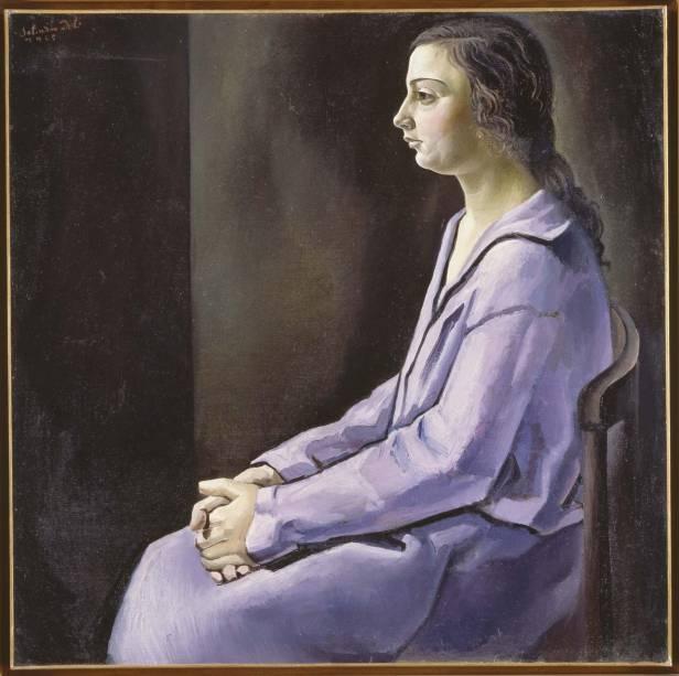 Retrato de mi Hermana (1925: tela de seu início de carreira