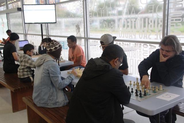 Torneio de Xadrez – Bibliotecas de São Paulo e Parque Villa-Lobos