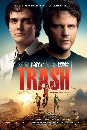 """Trash – A Esperança Vem do Lixo"""", filme com Selton Mello e Wagner Moura dirigido pelo inglês Stephen Daldry, diretor de Billy Elliot, tem estreia marcada para 9 de outubro"""