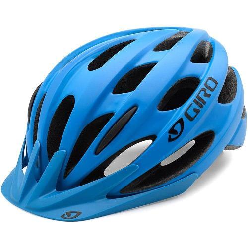 Capacete Giro Revel azul fosco, 149 reais, na Anderson bicicletas