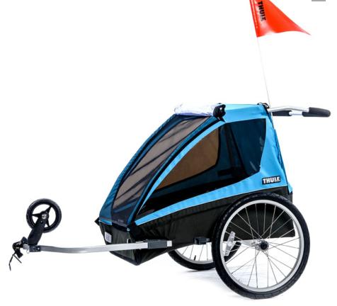Carrinho de Criança Thule Chariot Coaster Bike Trailer, 2 309 reais, na Bike Town