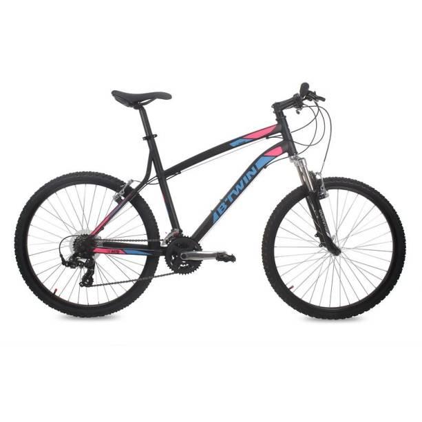 Bicicleta Mountain Bike B'Twin aro 26 Rockrider 340, 1 099,99 reais, na Decathlon