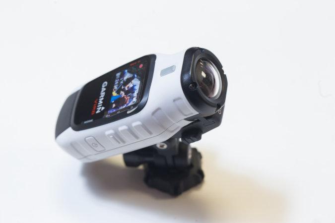 Câmera de video Virb Garmin, 1599 reais, na Pedal Urbano