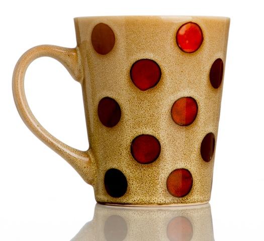 Daiso: caneca de cerâmica (R$ 9,90)