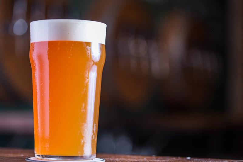 O chope Schornstein IPA servido na Cervejaria Ideal