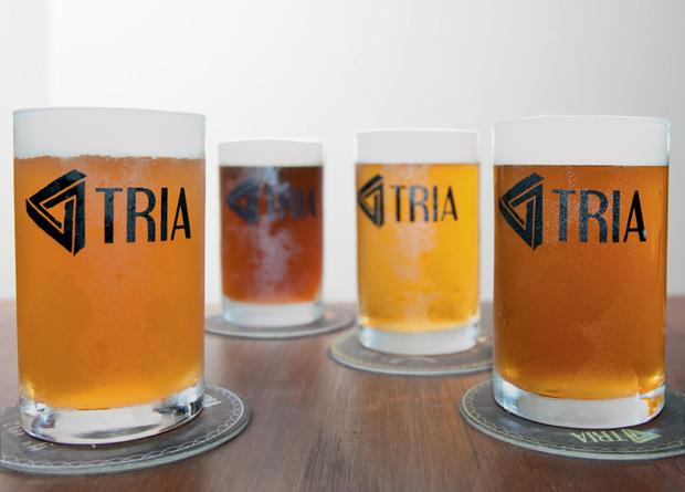 A degustação de chopes do Mundo Cervejeiro, em Moema: copos de 150 mililitros
