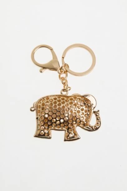 Paris Bijoux: chaveiro elefante (R$ 11,30)