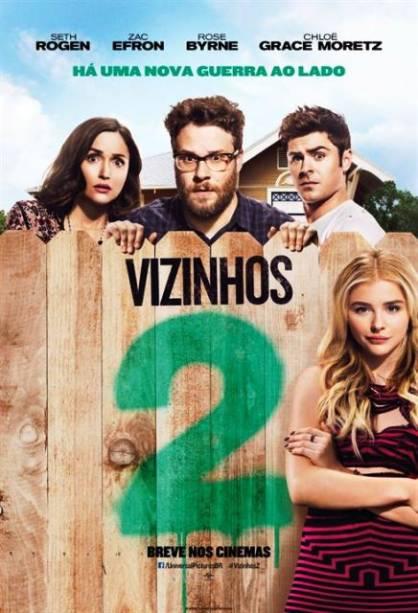 Vizinhos 2: pôster do filme