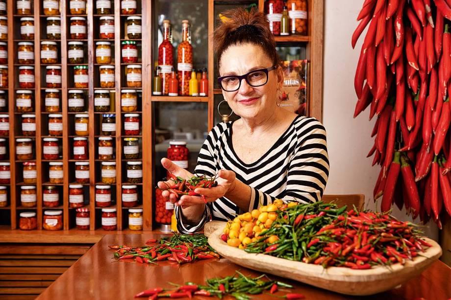 Mara Salles: a cozinheira comanda o Tordesilhas e foi eleita personalidade gastronômica pelo guia COMER & BEBER 2018/2019