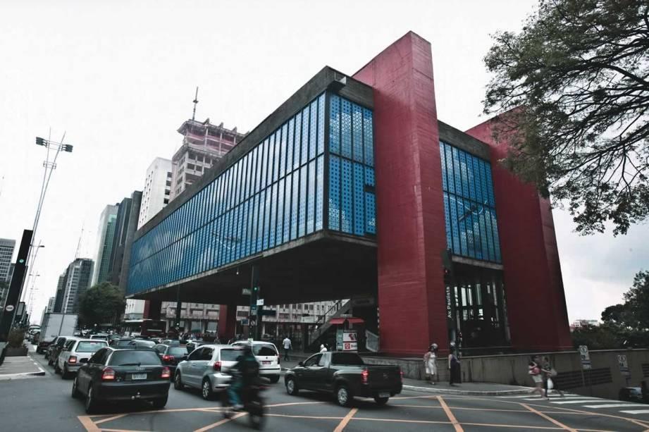 O museu, localizado na Avenida Paulista