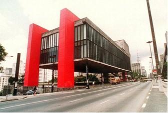 Masp, construção modernista do final da década de 1940