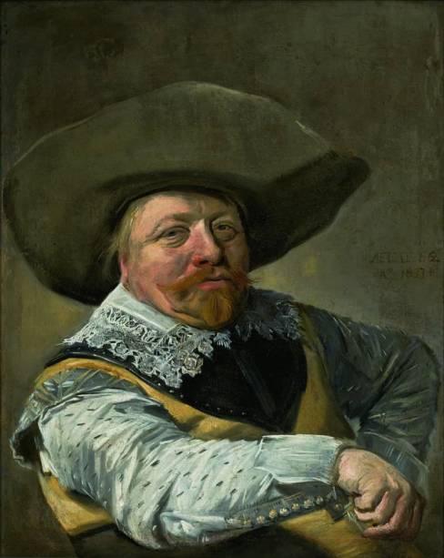 Oficial Sentado, 1631, Frans Hals