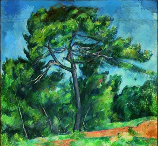 O Grande Pinheiro, 1890-1896, Paul Cézanne