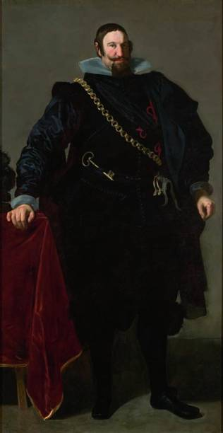 Retrato do Conde-Duque de Olivares, 1624, Diego Velázquez