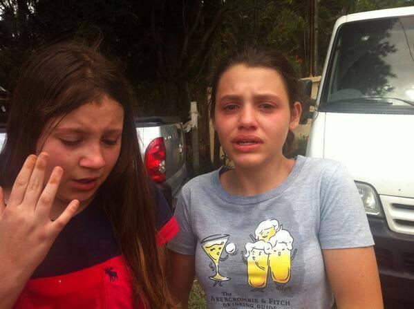 Crianças e adolescentes sofreram os efeitos das bombas de gás