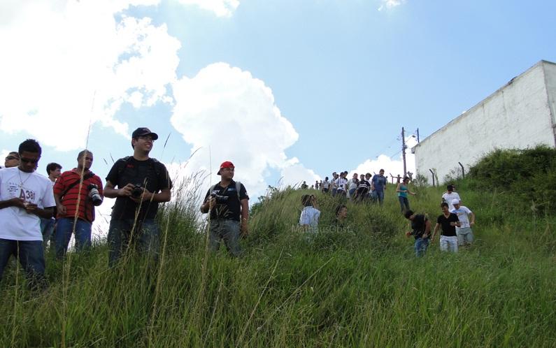 Spotters em ação em Cumbica