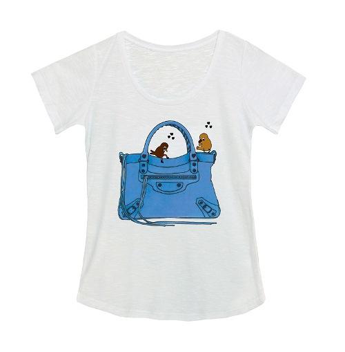 Camiseta feminina, R$ 179,00. So Lovely Shirt, Rua Peixoto Gomide, 1789, Jardim Paulista, tel.: 2639-1617, www.solovelyshirt.com.br.