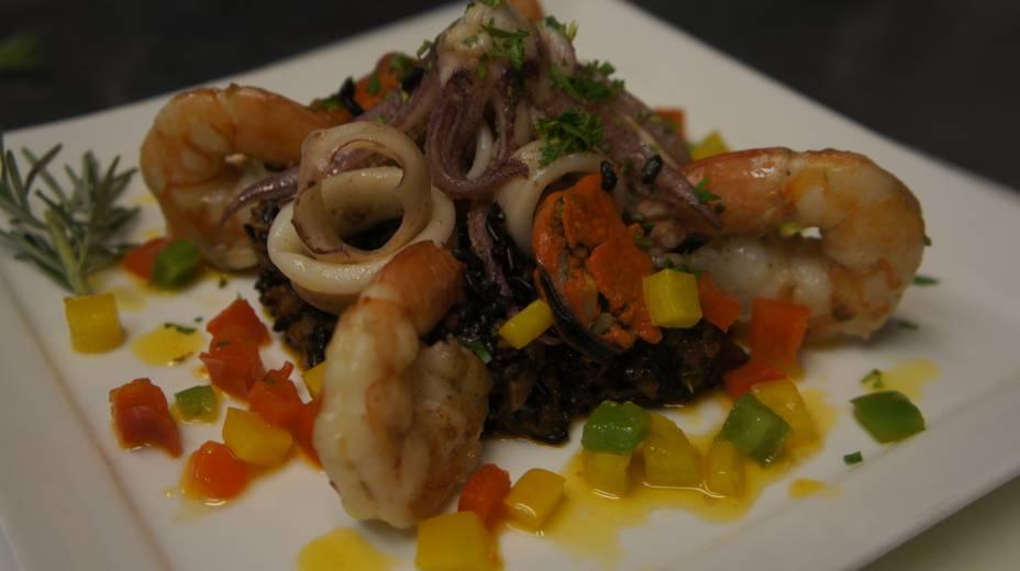A tradicional paella woodoo jambalaya, do Bourbon Street (R$ 68,00)