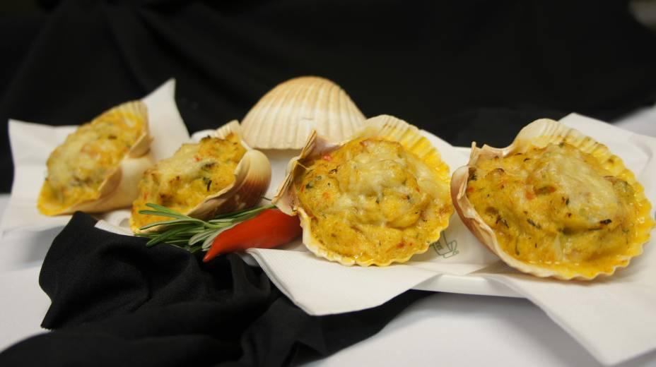 Crabby, casquinhas de siri servidas pelo Bourbon Street (R$ 39,00)