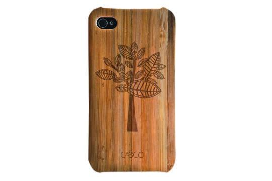 Capinha para iPhone 4 ou 4S, R$ 149,00. Casco Objetos, www.cascoobjetos.com.br.