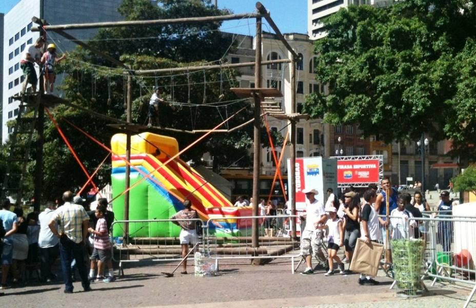 Atrações infantis da Virada Esportiva no Anhangabaú