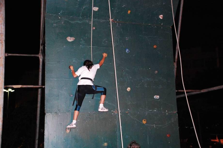 Escalada é um dos destaques do Parque do Carmo