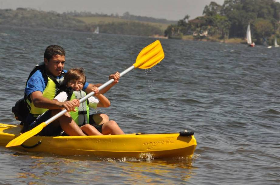 Represa de Guarapiranga na Virada Esportiva