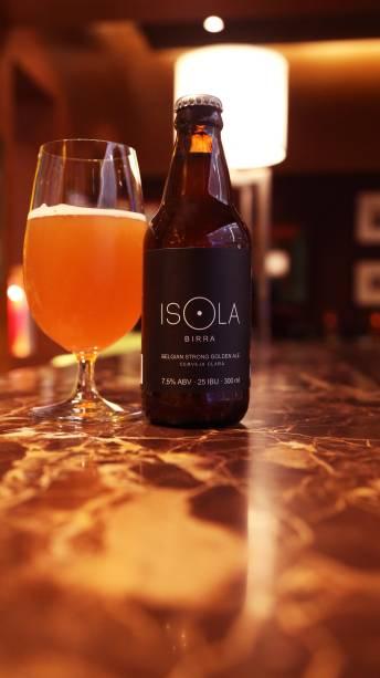 Birra Isola, rótulo de cerveja exclusivo do bar Isola