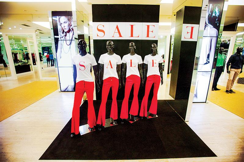 A Daslu do Shopping JK Iguatemi: peças pela metade do preço
