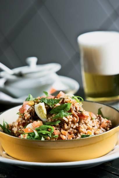 Original: arroz com rabada desfiada