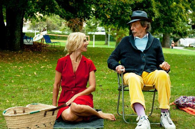 A Viagem de Meu Pai: Sandrine Kiberlain e Jean Rochefort