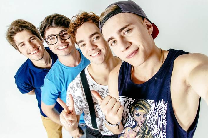 Eric Surita, Marcelo Arnal, Luccas Papp e Leo Picon