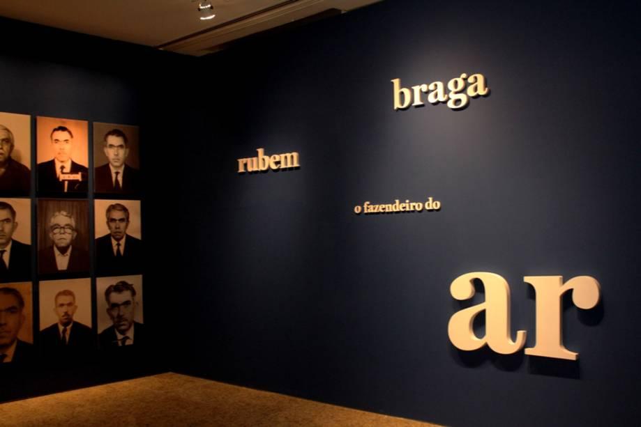 Exposição Rubem Braga – O Fazendeiro do Ar: homenagem ao centenário do escritor e jornalista