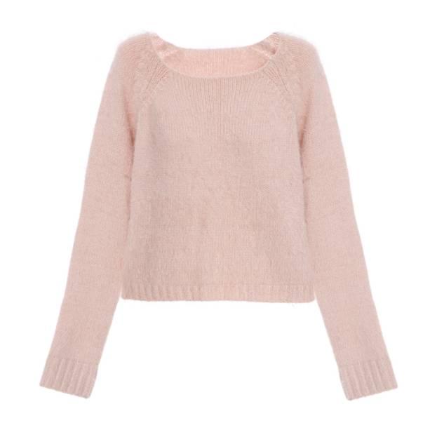 Blusa de tricô de comprimento curto, R$ 239,00, da Rosa Chá, tel.4063-7672