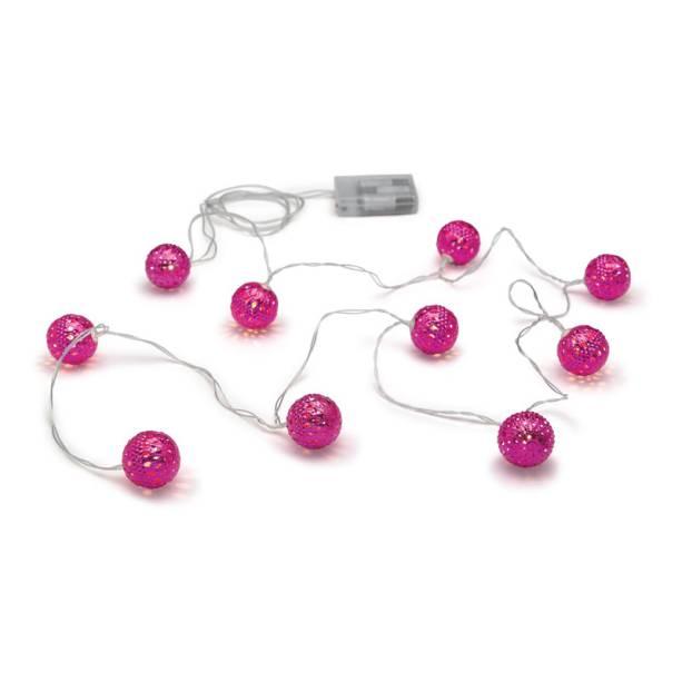 """Cordão luminoso com bolinhas rosas, R$ 56,91, na <a href=""""http://www.imaginarium.com.br/"""" rel=""""Imaginarium"""" target=""""_blank"""">Imaginarium</a>"""