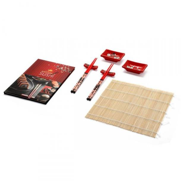 """Kit com livro de receitas para culinária japonesa, R$ 123,41, da <a href=""""http://www.imaginarium.com.br/"""" rel=""""Imaginarium"""" target=""""_blank"""">Imaginarium</a>"""