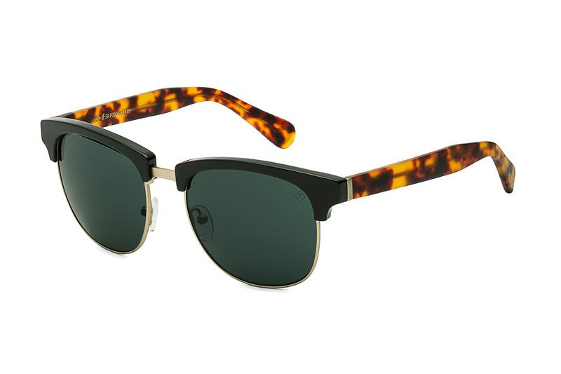 Óculos de sol de acetato e metal, R$ 360,00, da Forum Eyewear, tel<em>.</em>0800 028 0942