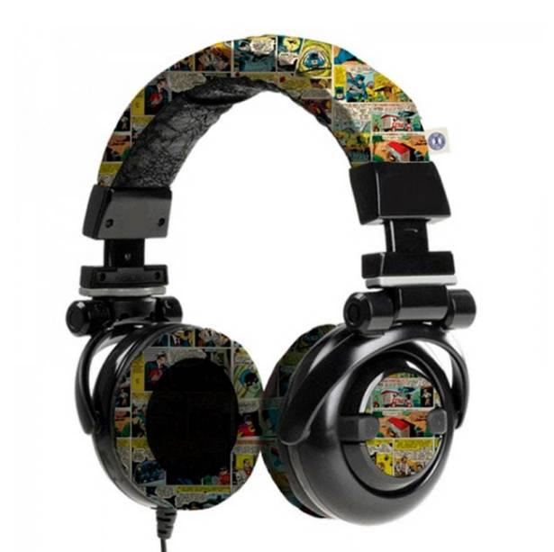 "Headphone de quadrinhos, R$ 159,00, da <a href=""http://www.loopday.com.br/"" rel=""Loopday"" target=""_blank"">Loopday</a>"